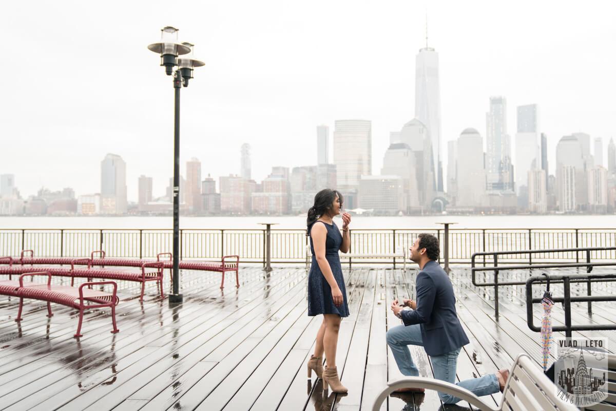 Photo 3 Jersey City Marriage Proposal | VladLeto