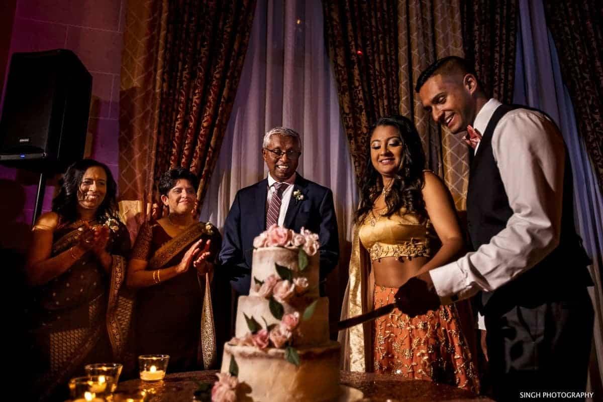 Sri Lankan Wedding Reception