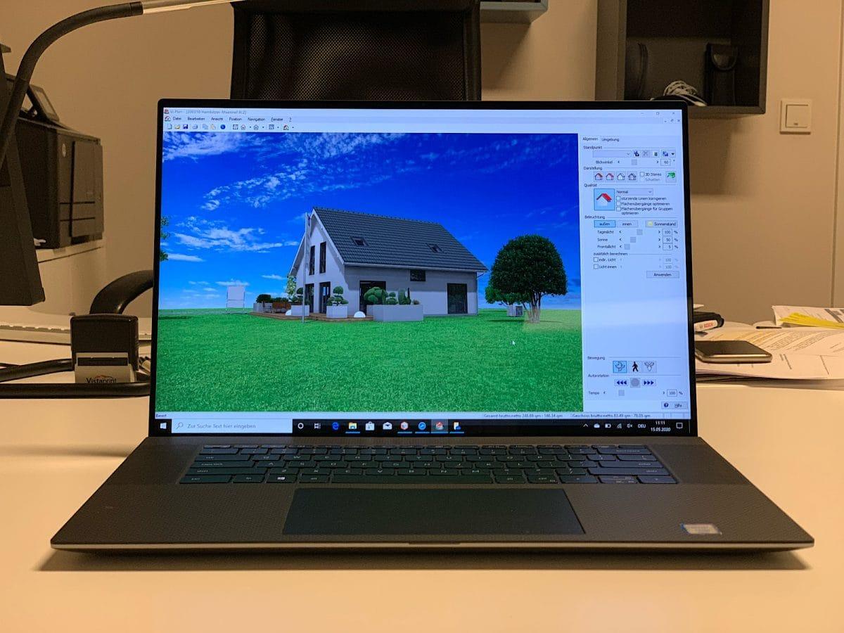 Dell Precision 5750 - mit CAD Software