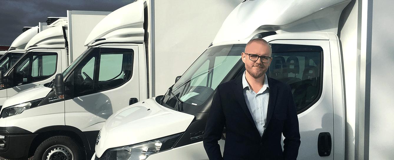 Benjamin Egeskjold - Stifter og direktør for Fragtopgaver.dk