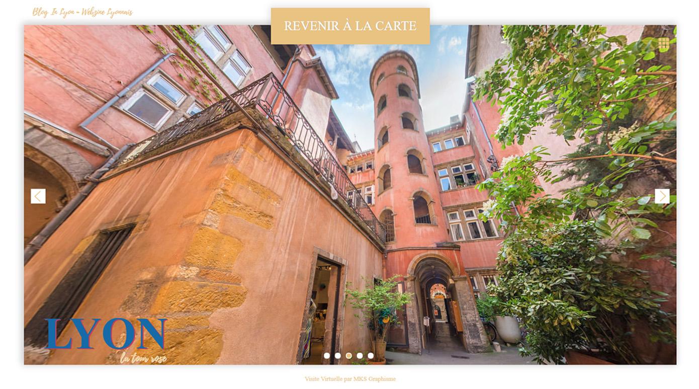 Visite Virtuelle Lyon - Blog In Lyon