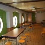 disney fantasy kids club, oceaneer club, dining room, disney fantasy, kids club