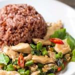 Thai Basil Chicken Stir Fry