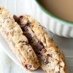 Biscotti with a Cup of Coffee