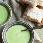 Fresh Sweet Pea Soup
