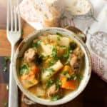 Pork Cider Stew