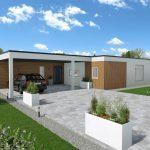 Pritlična sodobna montažna hiša Silvia