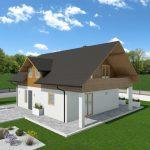 Hiša iz lesa Avis