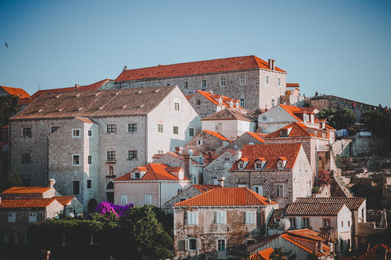 Häuser im Stadtkern von Dubrovnik