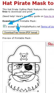 Maskas no Printable Masks