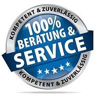 100% Beratung und Service - kompetent und zuverlässig