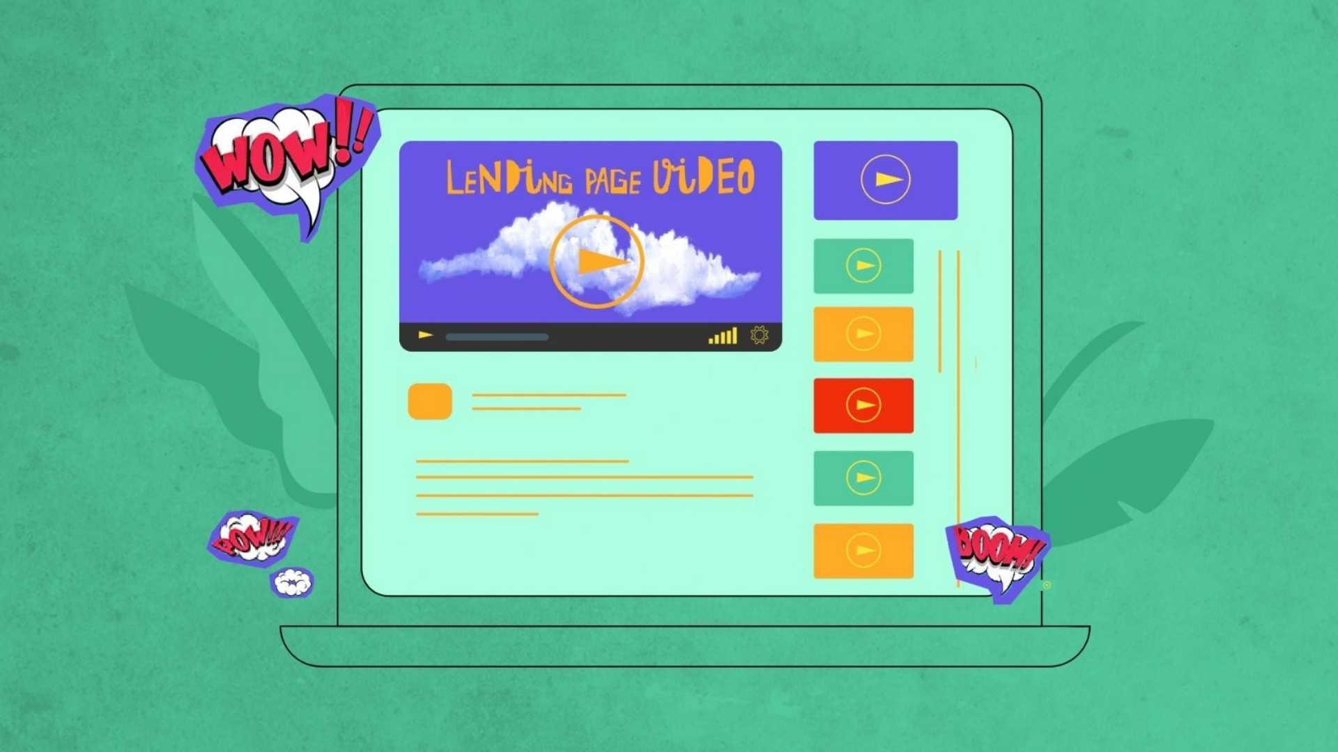 Landing Page Video