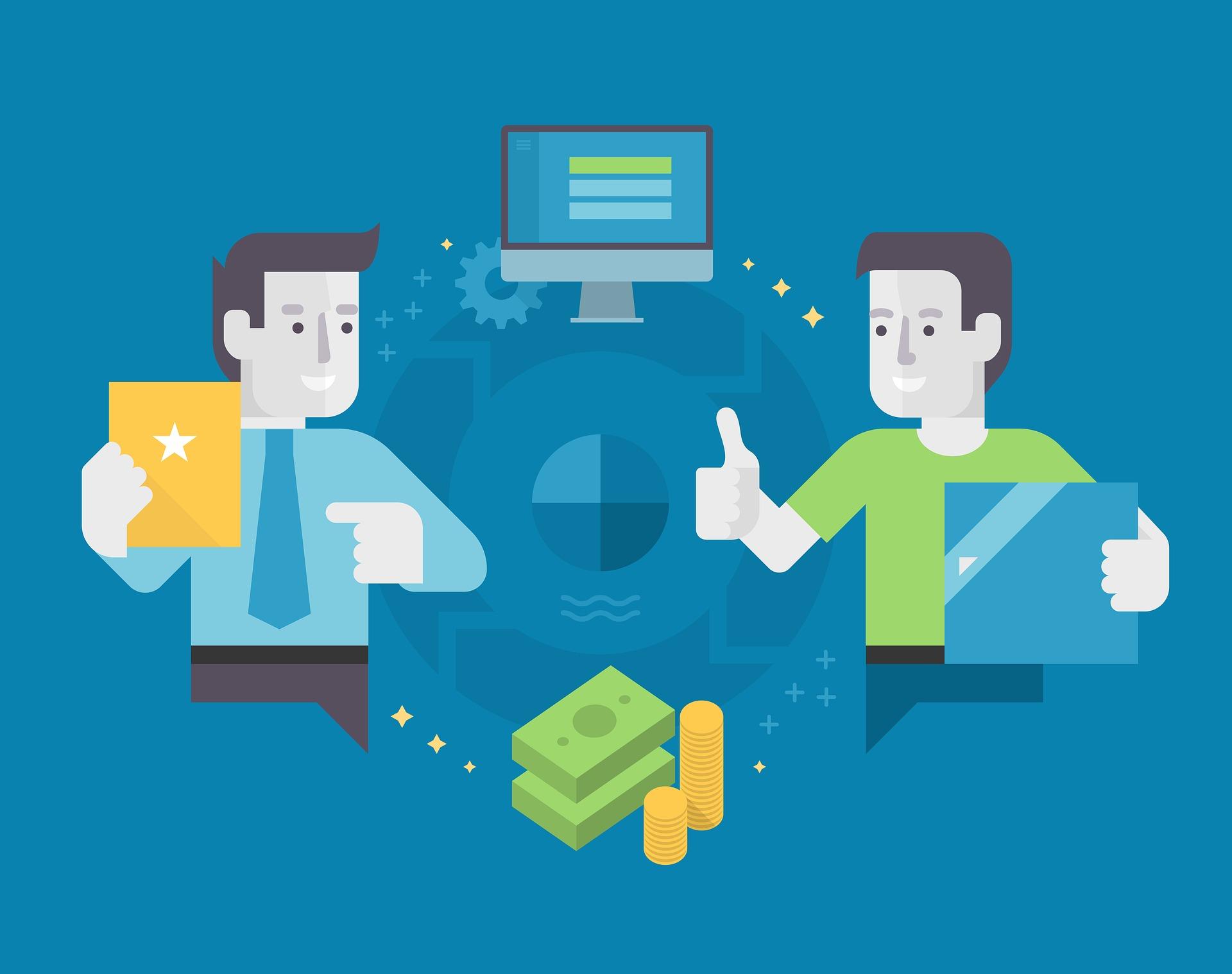 business-mand-webshop
