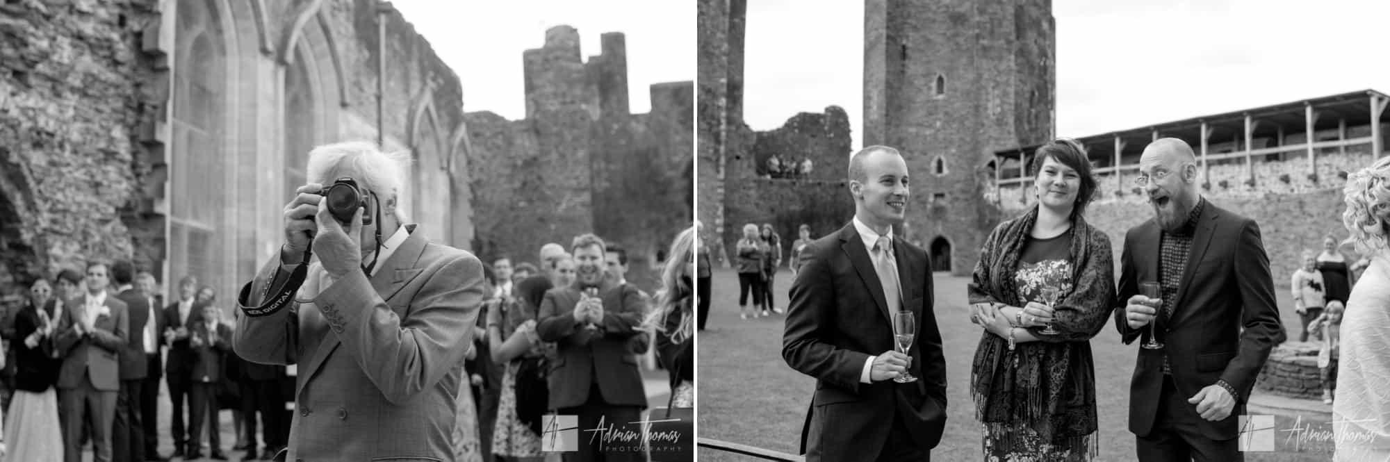 Guest at Castle reception.