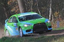 Roel van der Zanden & Ilse van de Sande - Mitsubishi Lancer Evo X - Twente Rally 2018