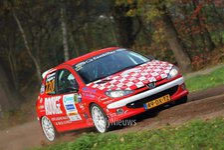 Wesley Stevens & Lean Potgieter - Peugeot 206RC - Twente Short Rally 2018