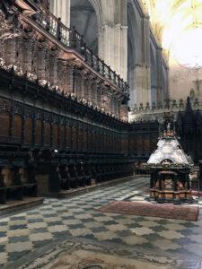 Chor - Kathedrale von Sevilla