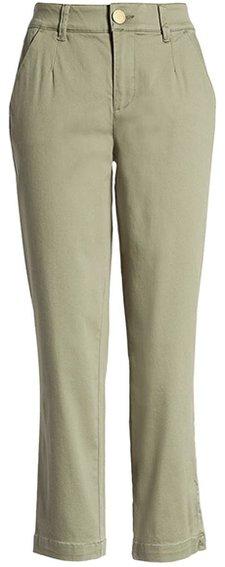 Wit & Wisdom stretch cotton pants | 40plusstyle.com