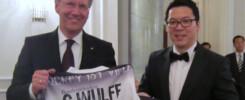 Bundespräsiden Christian Wulff