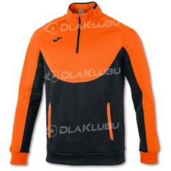 Bluza sportowa JOMA Essential czarno-pomarańczowa
