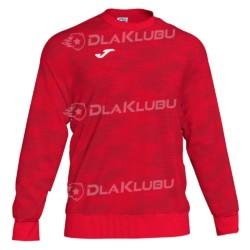 Bluza dresowa JOMA Grafity czerwona