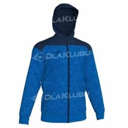Bluza dresowa z kapturem JOMA Winner niebiesko granatowa