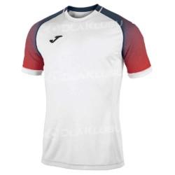 Koszulka siatkarska JOMA Hispa biało czerwono granatowa