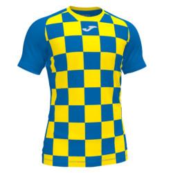 Koszulka piłkarska Joma Flag niebiesko żółta 101465.709