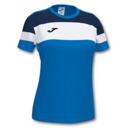 Koszulka sportowa damska Joma Crew IV niebiesko granatowa 901039.703