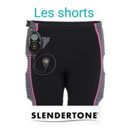 image de la gamme short de la marque slendertone