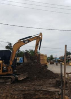 excavator pekanbaru