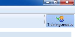 WinOrder Trainingsmodus aktiv