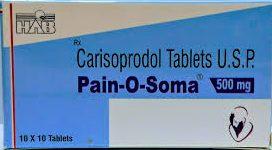 Pain-O-Soma, Soma 500mg