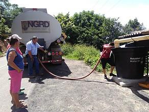 Photo of Vereda Buena Vista Alta recibe agua potable en carrotanques