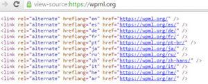 hreflang codice