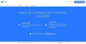 google inbox invitacion