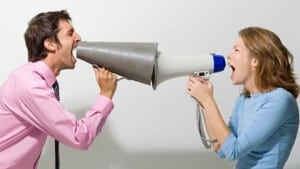 yelling at each other - improve your communication skills