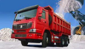Китайские грузовики и китайские самосвалы