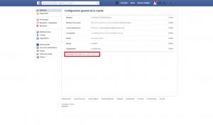Descargar archivos Facebook