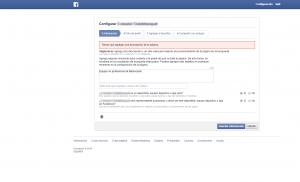 configuracion pagina migracion facebook