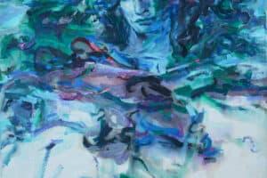 Shafik Radwan, Greek Drama, 2002, acrylic on canvas, 80 x 60 cm