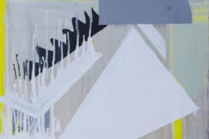 Zohdy Qadry, Non-Subject #26, 2017, acrylic on canvas, 70 x 50 cm