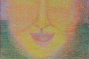 Sager Al Qatil, Untitled #10, 1985, mixed media on paper, 46 x 32 cm