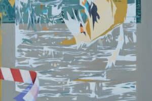 Bashar Khalaf, In Search of a Portrait #8, 2019, oil on canvas, 80 x 65 cm
