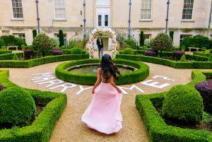 garden Marry me sign