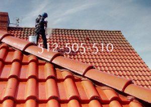 mycie dachów czyszczenie dachowki ceramicznej, cementowej mragowo, gizycko, olsztyn, szczytno