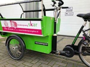 Workcycles De Redding KDV-BSOv bakfiets elektrisch maken met Pendix eDrive Middenmotor FON Arnhem 1871