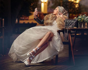 Wedding dresses styles commercial Paloma fashion Wine and SPA Complex Starosel official picture number #194