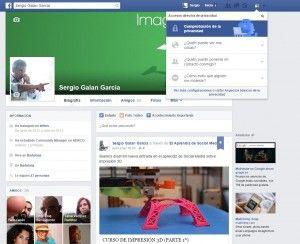 Chequeo Privacidad Facebook