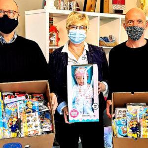 Lego, Duplo und vieles mehr für onkologischen Kinder